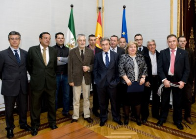 Freshuelva con representantes de las Administraciones