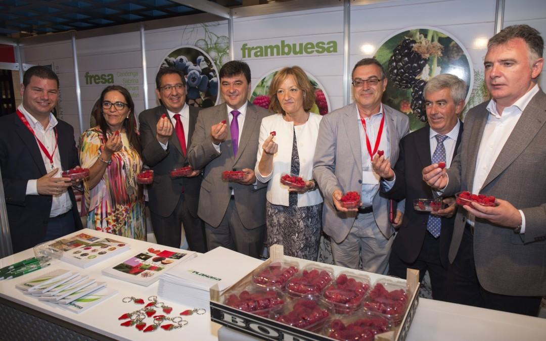 El Congreso de Frutos Rojos reúne a más de 1.000 personas en dos jornadas 'muy productivas'
