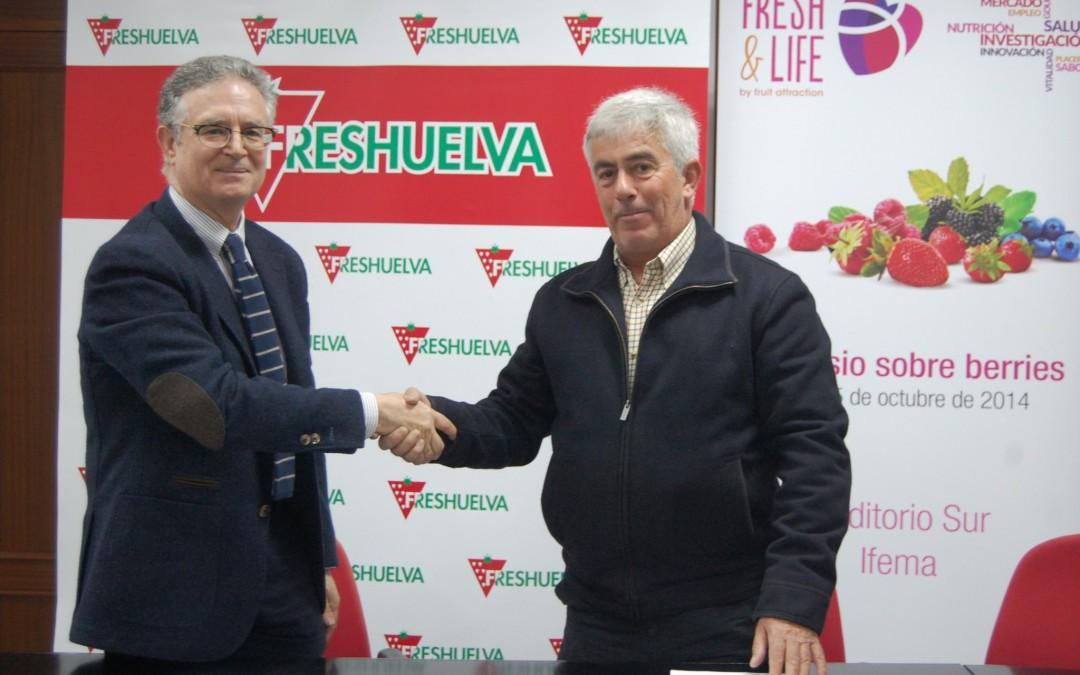 Freshuelva y la FAND acuerdan impulsar la investigación de los beneficios saludables y nutricionales de las berries