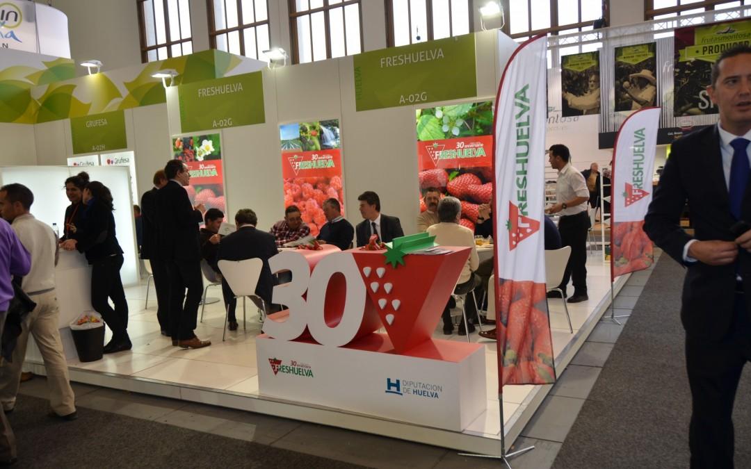 Las empresas de frutos rojos despiertan el interés de Rusia, países del Este de Europa y Asia