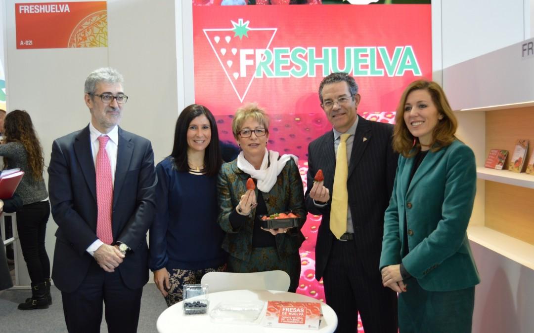 El sector de los frutos rojos consolida sus mercados europeos y abre nuevas vías de negocio en Fruit Logística