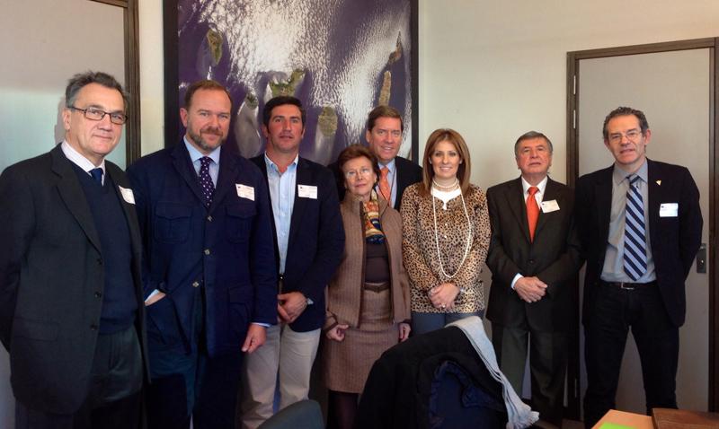 La Plataforma en Defensa de los Regadíos del Condado logra en Bruselas el apoyo de los eurodiputados