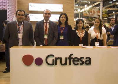 STAND DE GRUFESA EN FRUIT ATTRACTION 2011