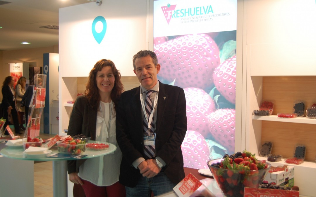 Freshuelva muestra la potencialidad turística de las berries en Sentidosur