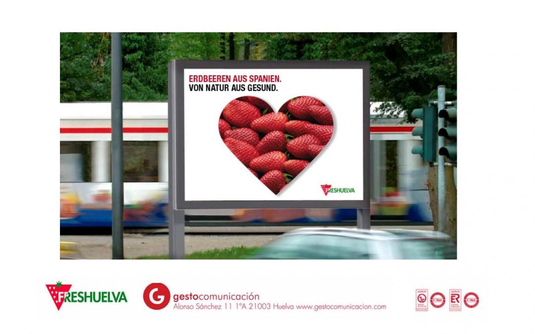 Freshuelva lleva a cabo una campaña de promoción en Alemania