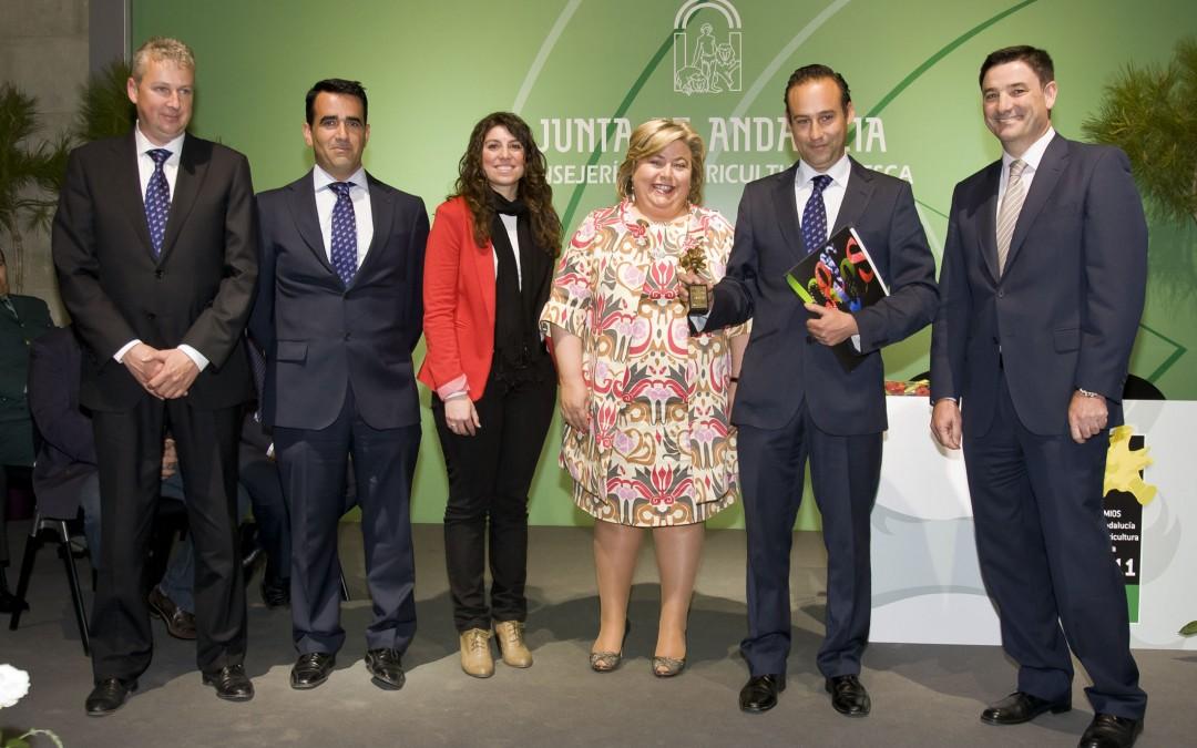 Plus Berries recibe el premio de Andalucía de Agricultura y Pesca