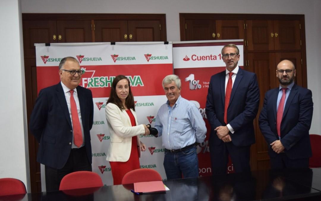 El Banco Santander se incorpora a Freshuelva Partners
