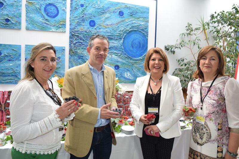 Los berries onubenses, en las IX Jornadas sobre el Alzheimer