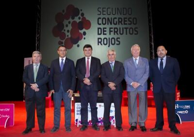 Jornada inaugural del II Congreso de Frutos Rojos