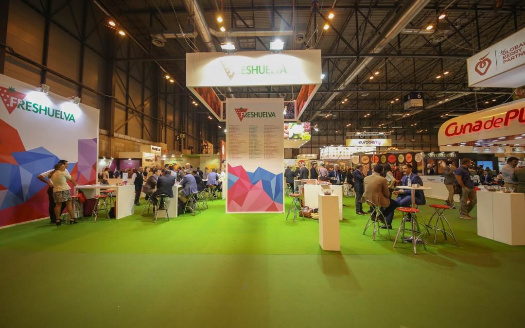 El potencial de las fresas y berries de Huelva se concentrará en más de 1.200 m2 en la próxima edición de Fruit Attraction