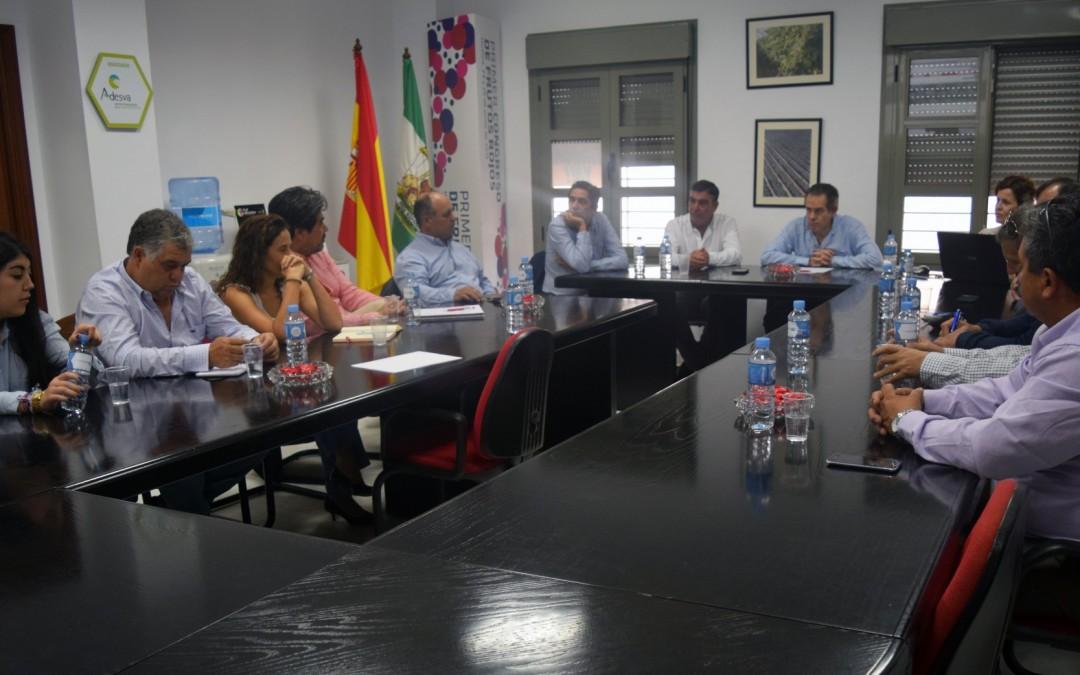 Freshuelva intercambia con una Delegación chilena las experiencias en producción y comercialización de los berries onubenses