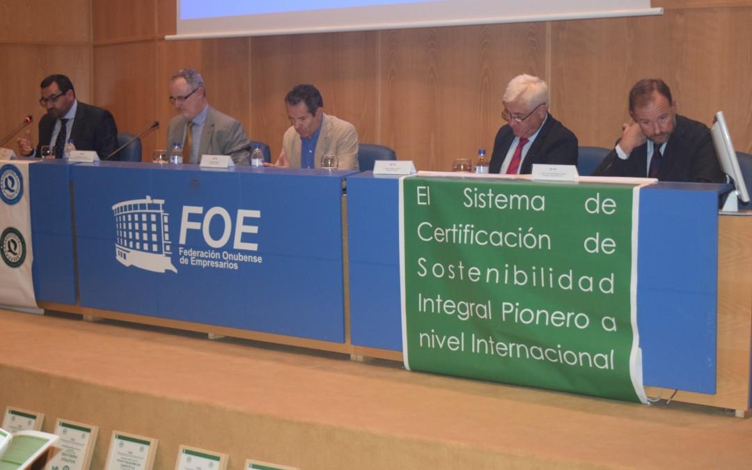 Freshuelva participa en las Jornadas 'Huelva, territorio sostenible'