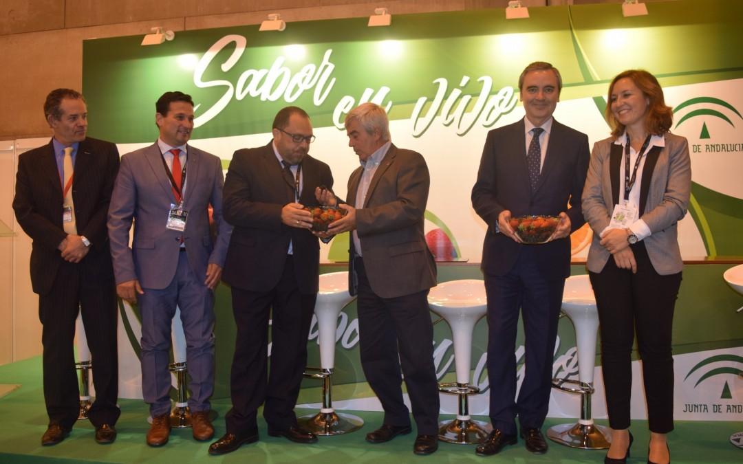 Las empresas asociadas de Freshuelva impulsarán la comercialización de los berries con el nuevo etiquetado nutricional