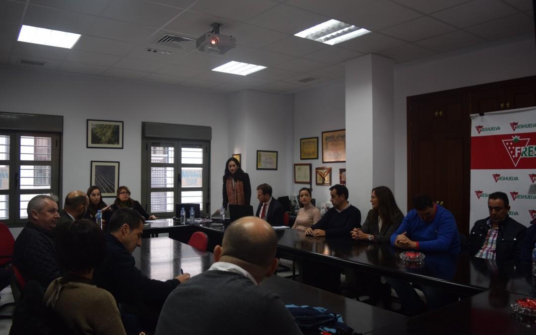 Empresas asociadas de Freshuelva participan en unas jornadas del Banco Santander