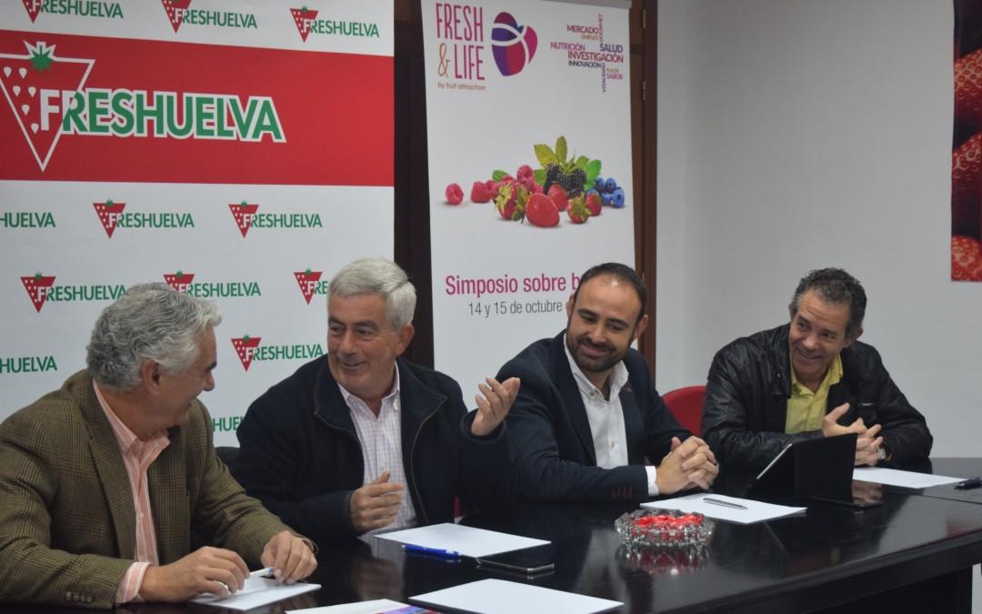 Freshuelva estrecha lazos de colaboración con el Ifapa