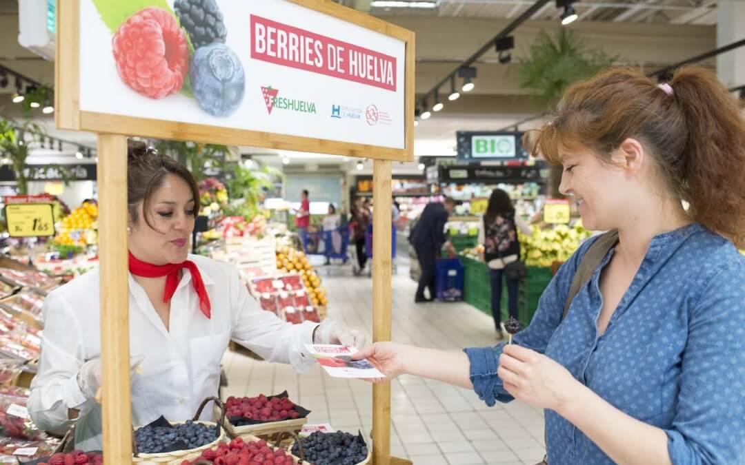 Freshuelva y Diputación lanzan una campaña para impulsar el consumo nacional de berries