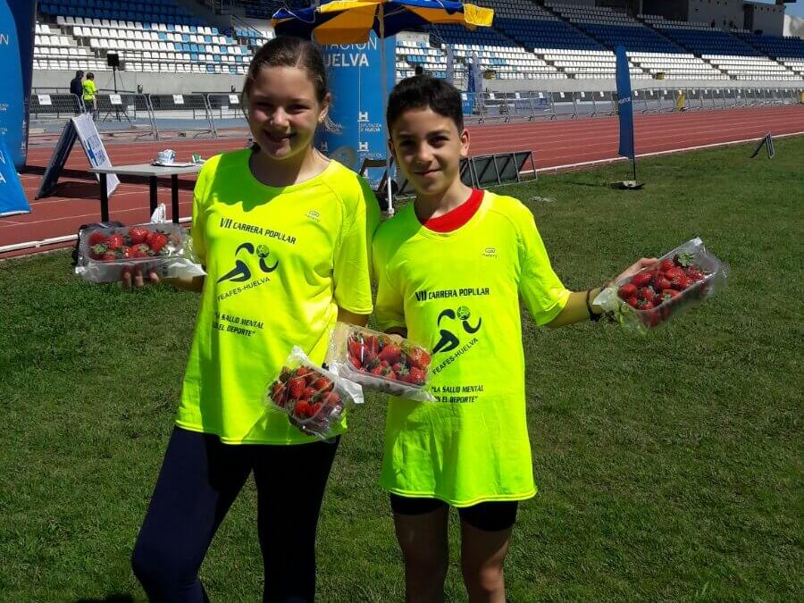 Freshuelva colabora con la carrera 'La salud mental con el deporte'