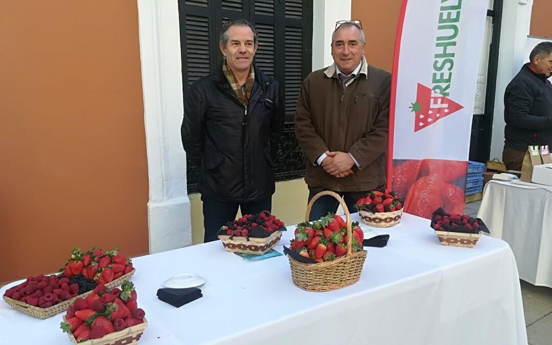 Los berries de Freshuelva, en la presentación de la Biblioteca de la Gastronomía Andaluza