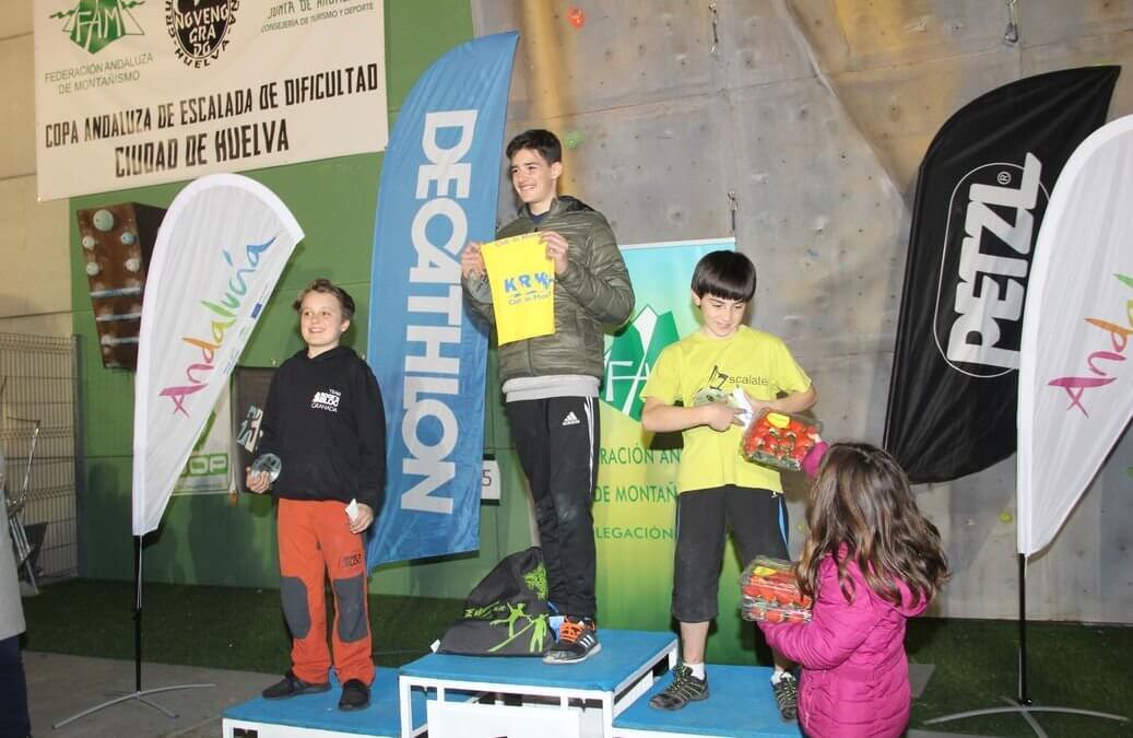Freshuelva colabora con la III Copa Andaluza de Escalada Ciudad de Huelva