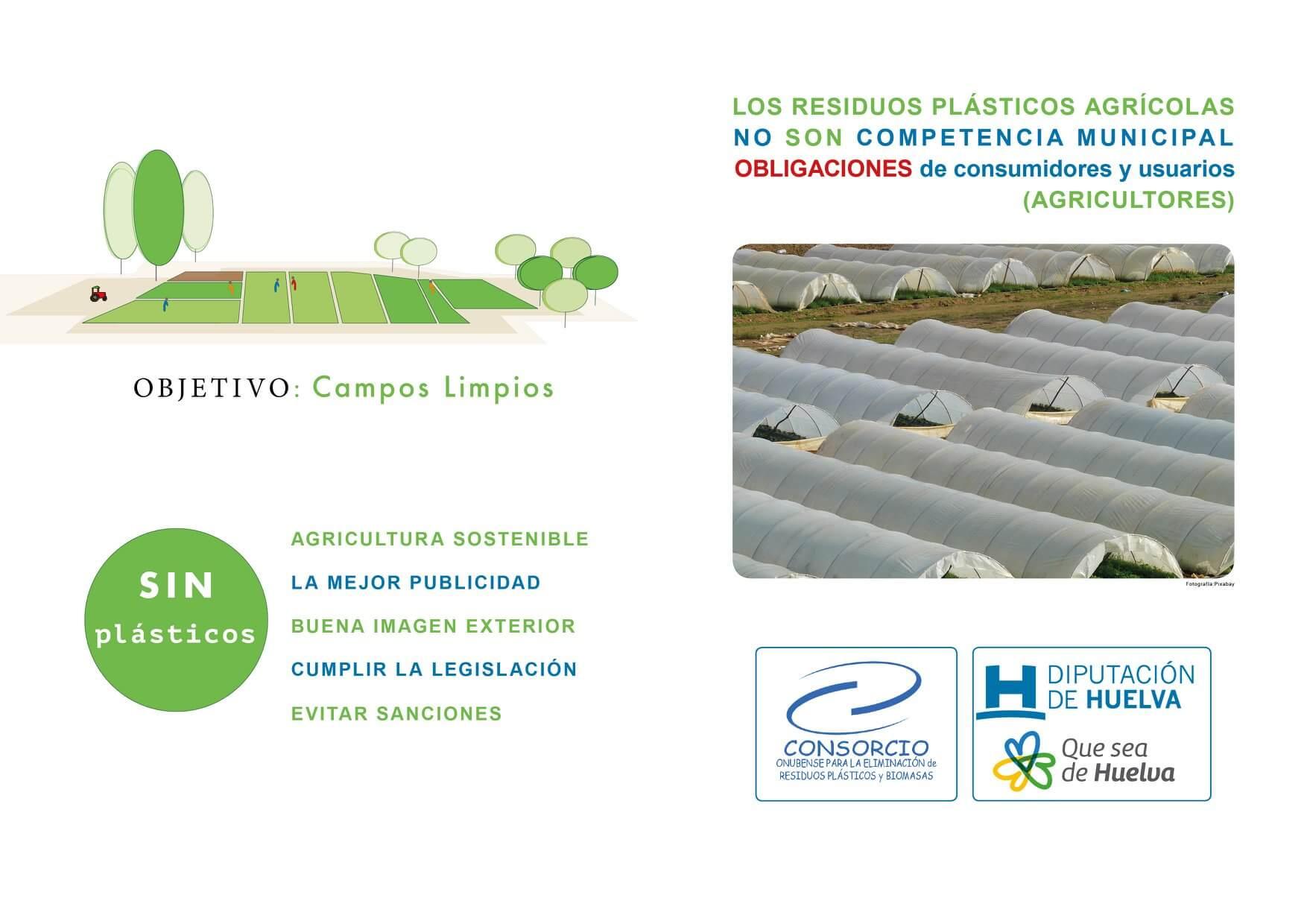4adbaf393 Información para la gestión de los residuos plásticos por parte de los  agricultores