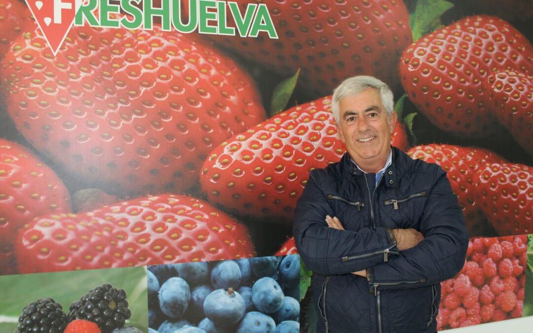 Alberto Garrocho, reelegido como presidente de Freshuelva