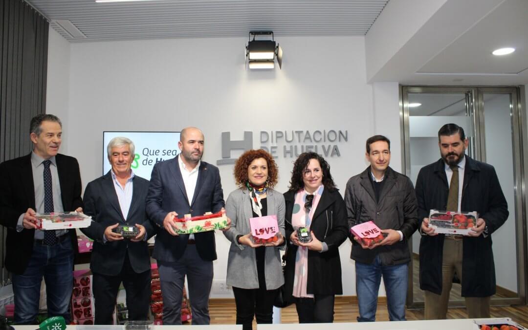 Los frutos rojos de la provincia viajan de nuevo a Berlín para promocionarse en la feria Fruit Logística de Berlín