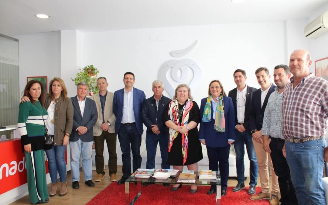 La eurodiputada Clara Aguilera visita Cuna de Platero