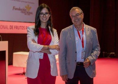 Miguel Ángel Hidalgo y María Serrano