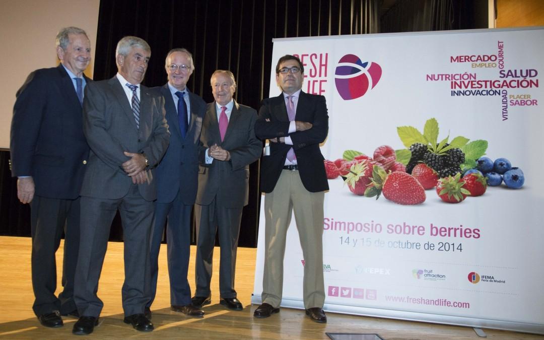 La necesidad de seguir abriendo nuevos mercados y la diferenciación nutricional de la fresa, a debate en 'Fresh & Life'
