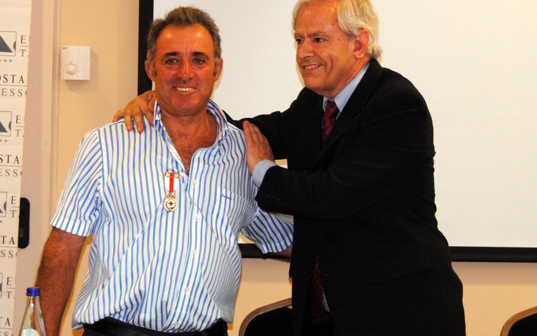 Agromartín recibe la Medalla de Plata de Cruz Roja Española