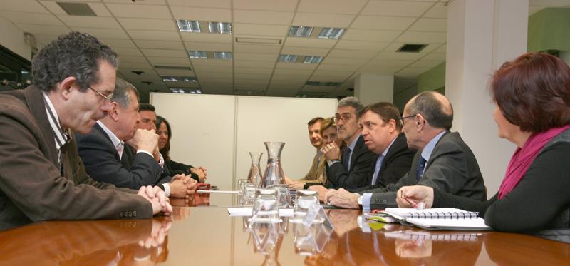 La Junta iniciará en primavera las obras de abastecimiento al Condado de Huelva y el entorno de Doñana