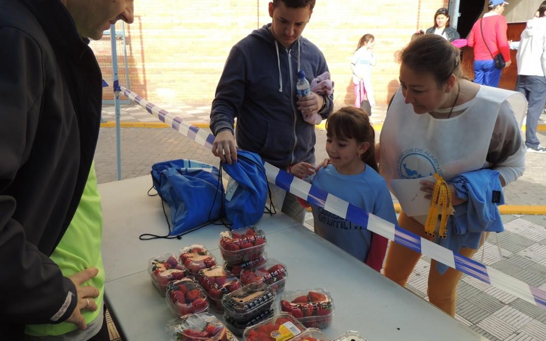 Freshuelva colabora con la 'Carrera Infantil Kilos x Km' a beneficio del Banco de Alimentos y de Cruz Roja