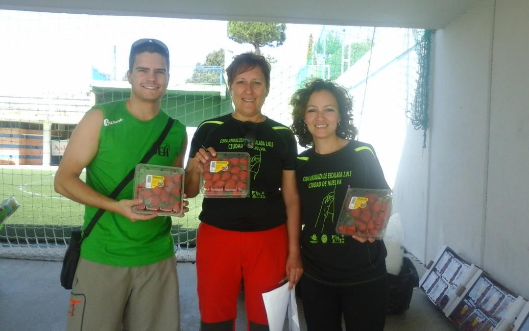 Freshuelva colabora con la I Copa de Escalada Ciudad de Huelva