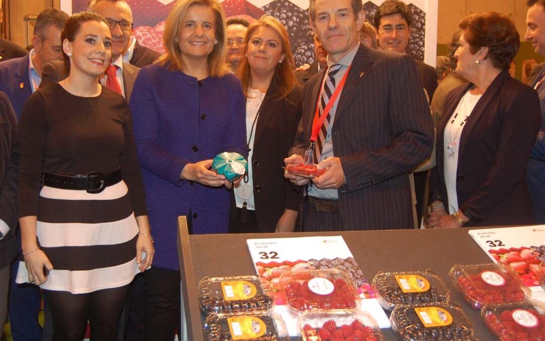 Las empresas de berries de Huelva refuerzan sus mercados y abren nuevas líneas comerciales en Fruit Attraction
