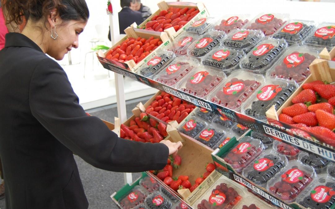 Cinco empresas del sector de los frutos rojos acuden a Fruit Logística Berlín
