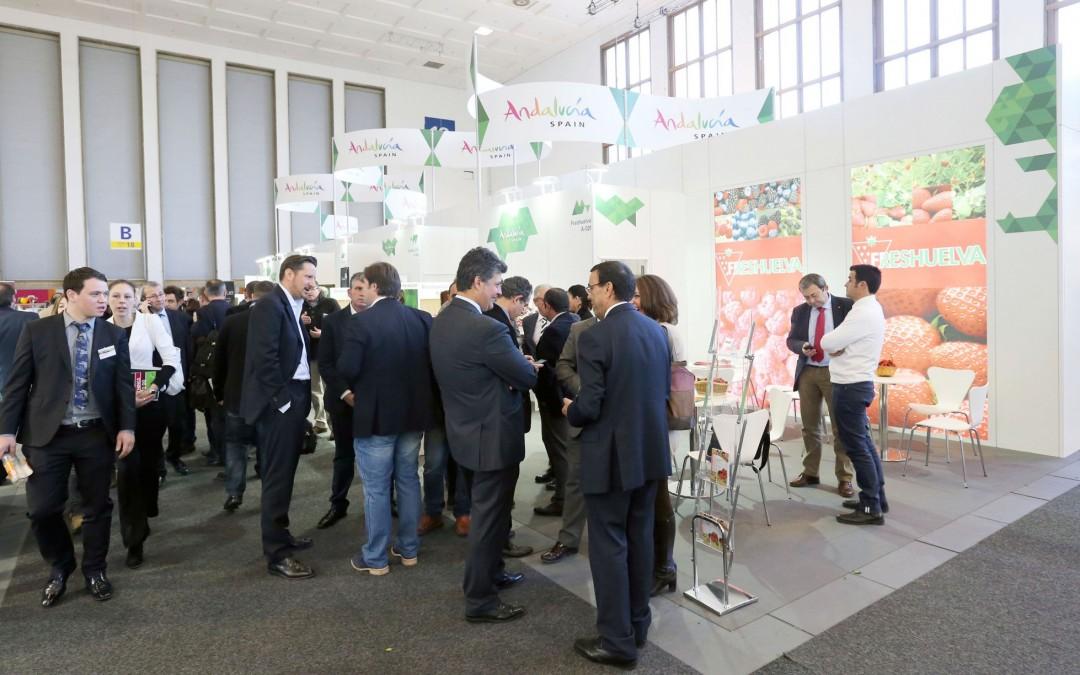 Freshuelva y seis de sus empresas acuden a la Fruit Logística de Berlín