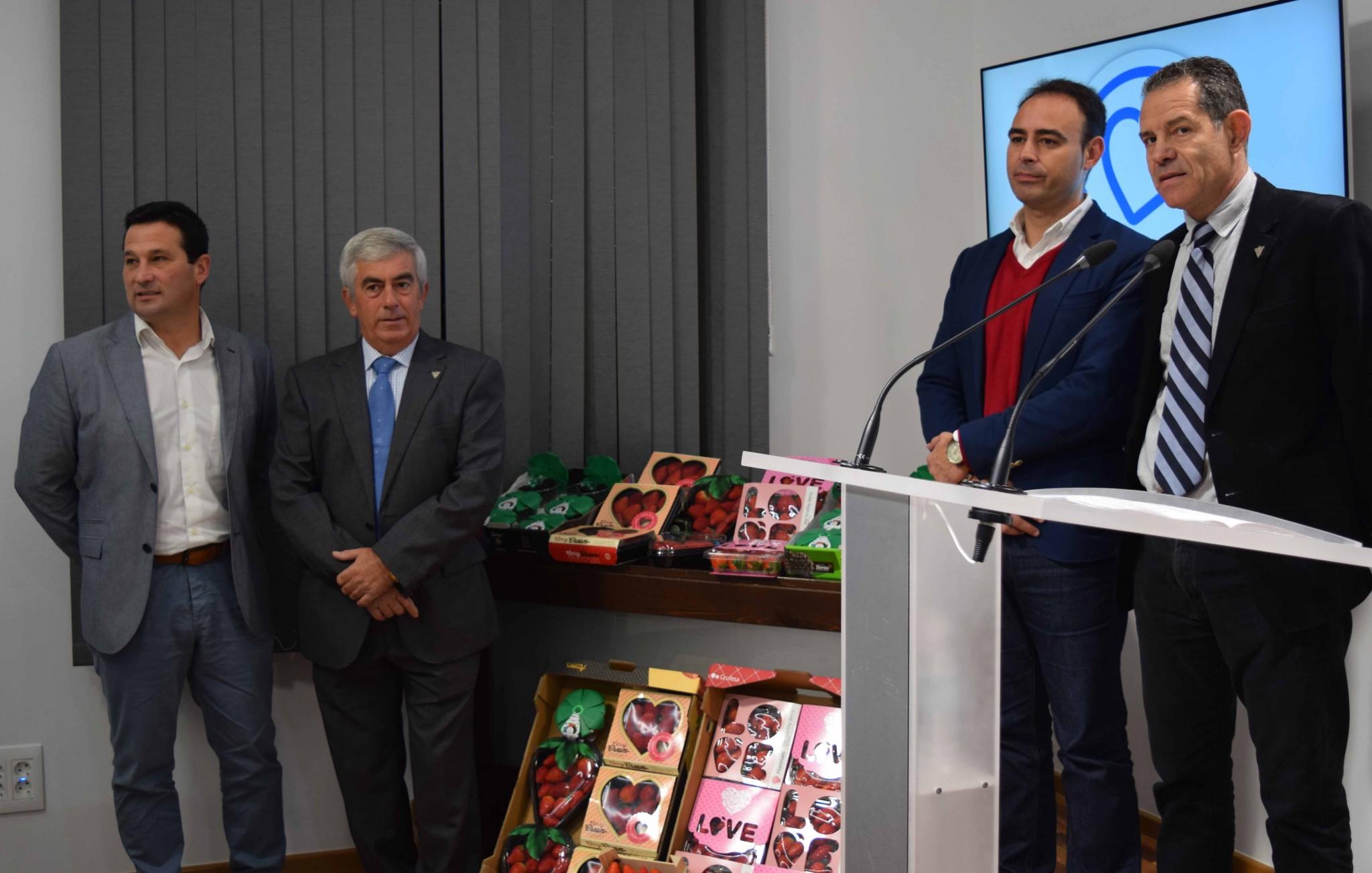Los frutos rojos de Huelva estarán presentes en la feria Fruit Logística de Berlín