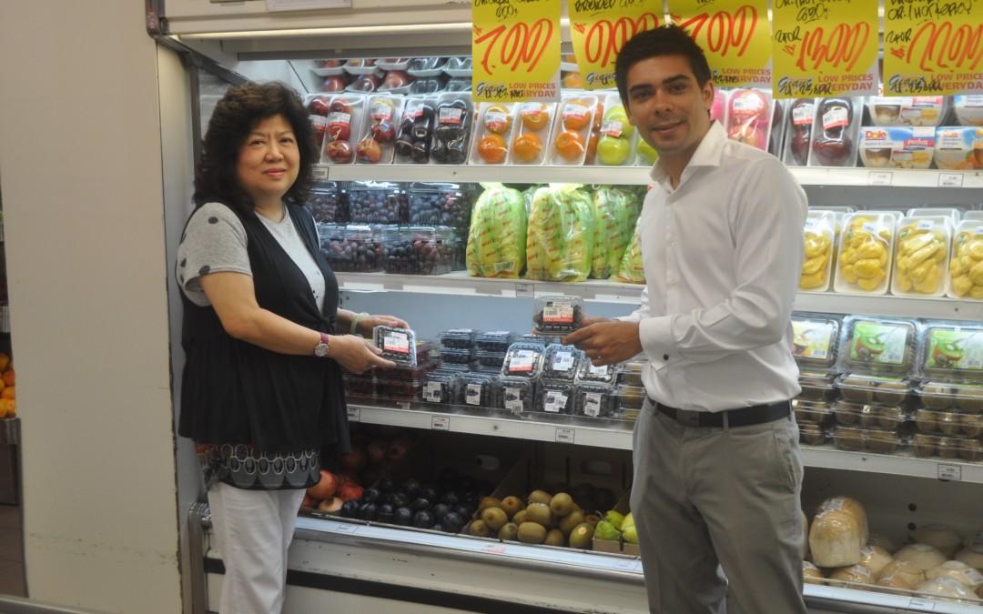 El arándano de Agromolinillo se instala en Indonesia, Malasia y Singapur