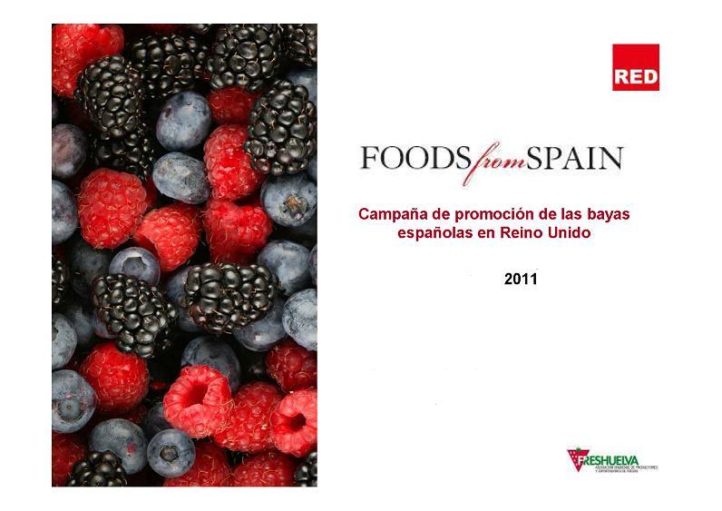 Freshuelva lleva a cabo una campaña de promoción de los berries en Reino Unido