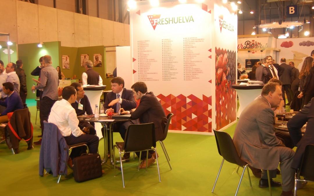 Freshuelva presentará la nueva etiqueta nutricional de los frutos rojos de Huelva en Fruit Attraction