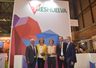 Inauguración ministra Tejerina