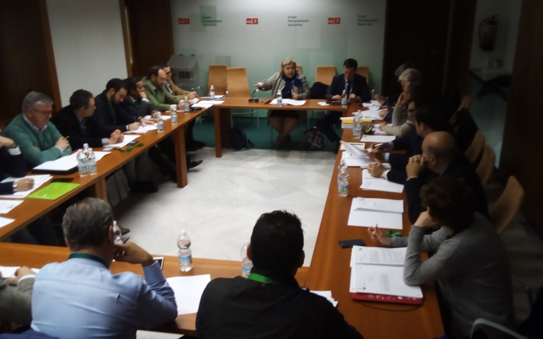 Freshuelva participa en un encuentro con la europarlamentaria Clara Aguilera