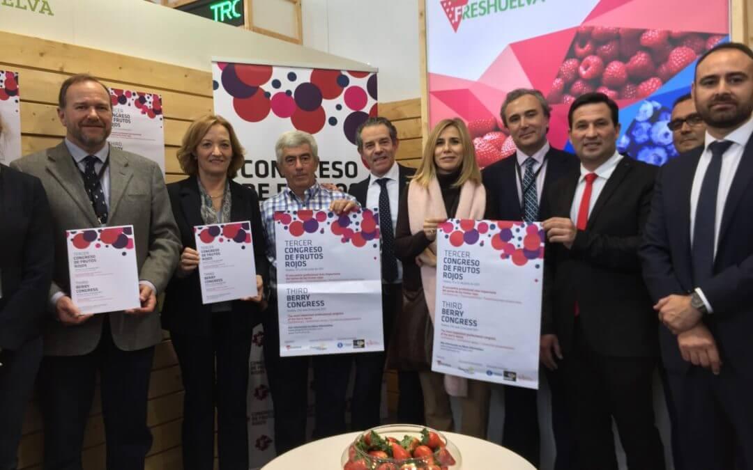 Freshuelva promociona el consumo y las cualidades saludables de sus berries en Fruit Logística