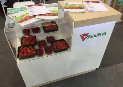 Stand Freshuelva frutas