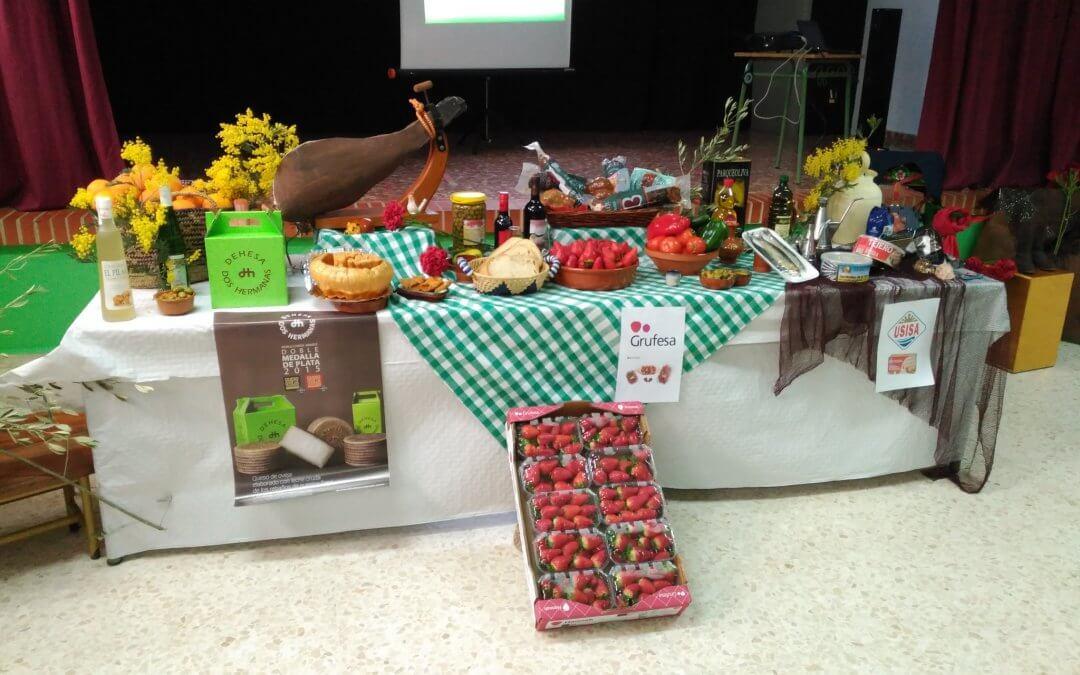 Freshuelva colabora con los desayunos saludables del CEIP Arias Montano