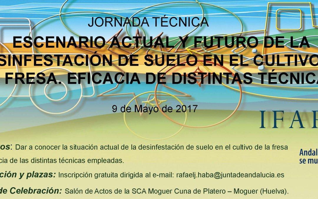 Jornada técnica del Ifapa en Cuna de Platero el 9 de mayo
