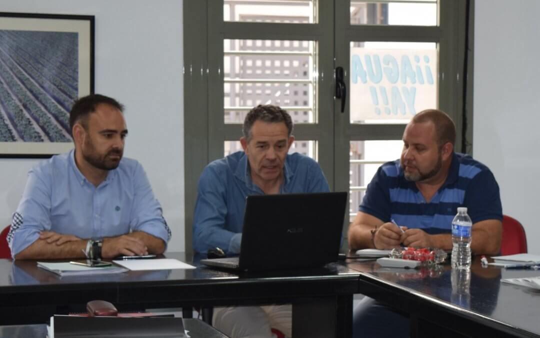 Freshuelva pone a disposición de la Junta sus medios para colaborar en la extinción del incendio de Mazagón y Moguer