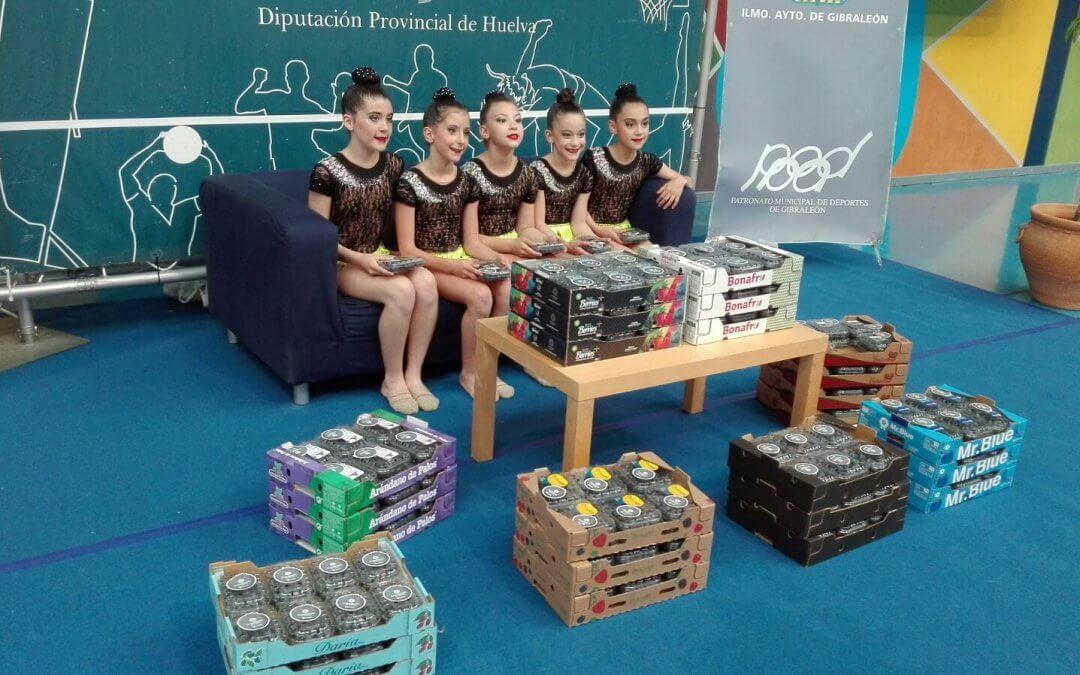 Los arándanos de Huelva, presentes en el Trofeo Diputación de Gimnasia Rítmica