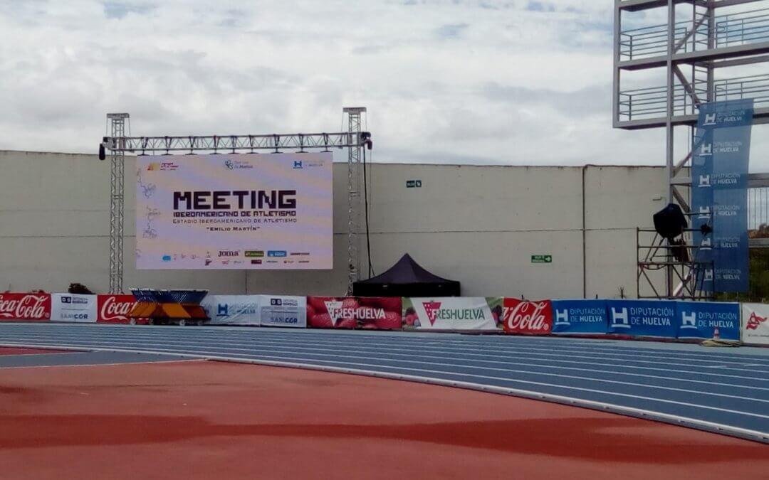 Freshuelva colabora con el 14 Meeting Iberoamericano de Atletismo