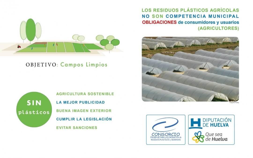 Información para la gestión de los residuos plásticos por parte de los agricultores